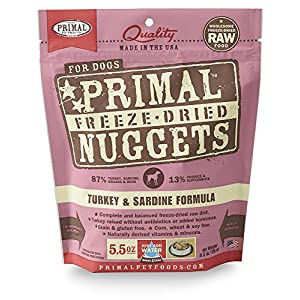 Primal Pet Foods Freeze-Dried Canine Turkey Formula 5.5 Oz 96