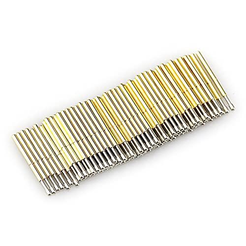 100 Pcs Spring Test Probe Pogo Pin P75-LM2 Dia 1.02mm Length 16.5mm