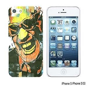 OnlineBestDigitalTM - Celebrity Star Hard Back Case for Apple iPhone 5S / Apple iPhone 5 - Ray Charles