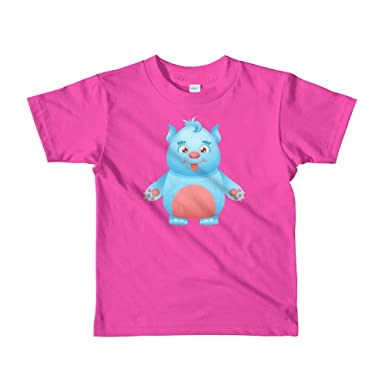 VisualArt Cute Monster - Camiseta de Manga Corta para niños ...