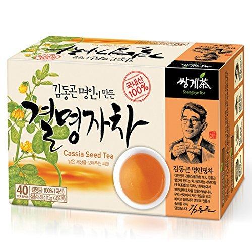 Ssanggye Tea Cassia Seed Tea 1.2g X 40t Premium Korean Herb Kyulmyungja