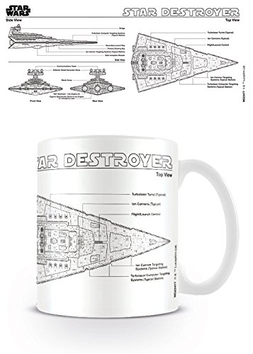 Amazon Star Wars Ceramic Coffee Mug Cup Star Destroyer