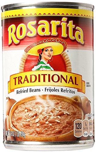 (Refried Beans Regular by Rosarita, 16 oz)