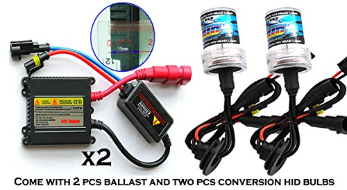 ICBEAMER 9006 HB4 12V 35W HID Xenon Conversion Kit Slim ballast 30000K - 2 Bulbs & 2 Ballasts Color Dark Blue - Conversion Kit Honda Element