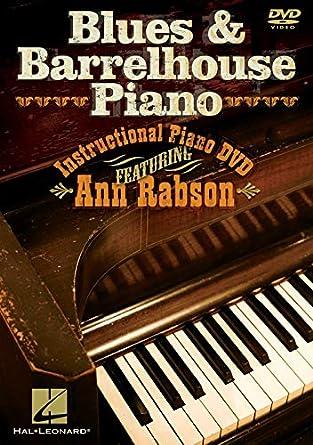 Amazon com: Blues Barrelhouse Piano Rabson DVD: Ann Rabson