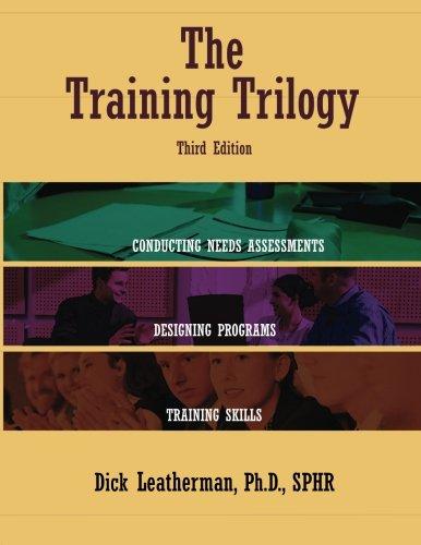 The Training Trilogy, 3rd Edition PDF ePub fb2 ebook