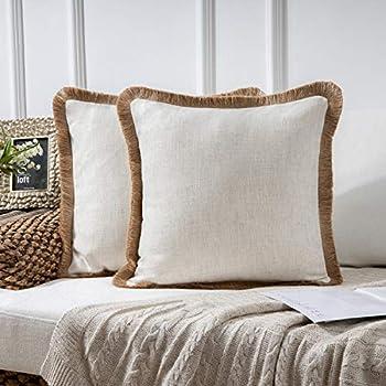 Amazon.com: Phantoscope - Funda decorativa de lino para ...