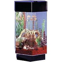 Aqua 8 Gallon Scape Hexagon Aquarium Kit
