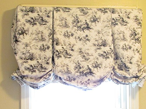 Toile Balloon Shade