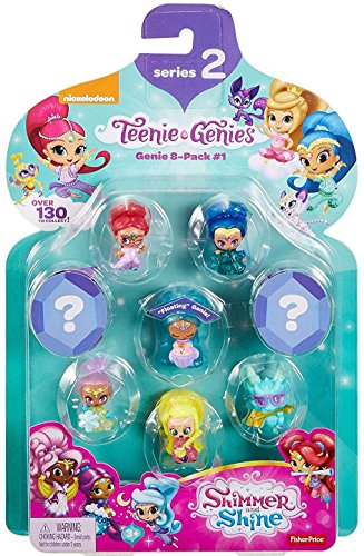 Fisher-Price Shimmer & Shine Teenie Genies Series 2 Genie Toy (8 Pack), #1