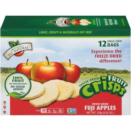 Brothers-All-Natural Fruit Crisp Fuji Apples 12 Half Cup Bags 10 g Each (Pack Of 2) by Brothers-ALL-Natural (Image #7)