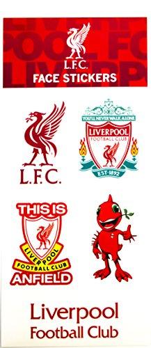 Steven Gerrard Liverpool (Official Liverpool FC Face Stickers)