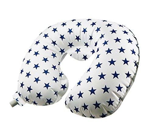PANDA SUPERSTORE Outdoor Travel Pillow U-Shaped Neck Pillow Nursing Pillow Nap Inflatable Pillow