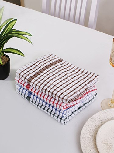 - smart dishcloths 100% Cotton Kitchen Dish Cloth, Terry, 14 x 14 Inch, Absorbent Kitchen Dish cloth & Dish Towels by (Dish Cloth 14 x 14 inch, Mutli)