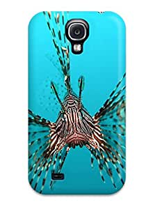 Faddish Phone The Lion Fish Case For Galaxy S4 / Perfect Case Cover