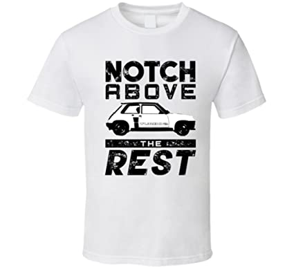 1978 Renault 5 Turbo Phase 1 Notch Above Car T Shirt S White