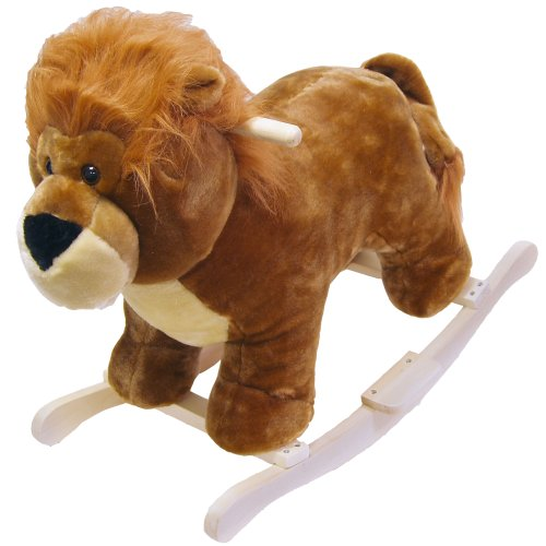 Happy Trails Lion Plush Rocking Animal Only $36.43 (Was $159.99)