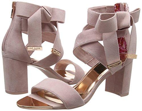 Sandales Noxen ffc0cb Bride mink Baker Cheville 2 Rose Pink Ted Femme qCtxATUn55