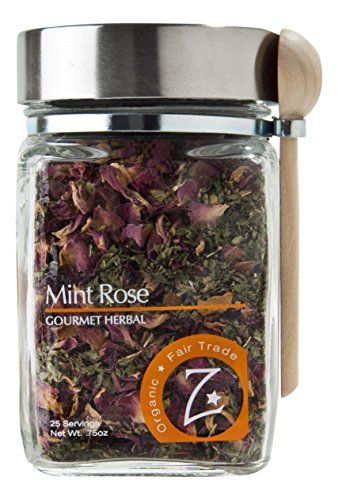 Zhena's Gypsy Tea Herbal Tea, Mint Rose, 0.75 Ounce