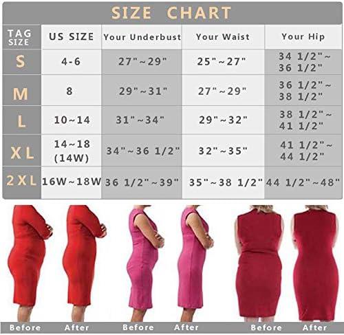 Shapewear Shorts for Women Thigh Slimmer Slip Shorts Under Dress Tummy Control Panties Body Shaper