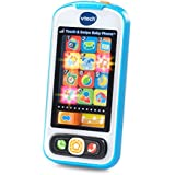 VTech Touch and Swipe Baby Phone - Blue - Online Exclusive