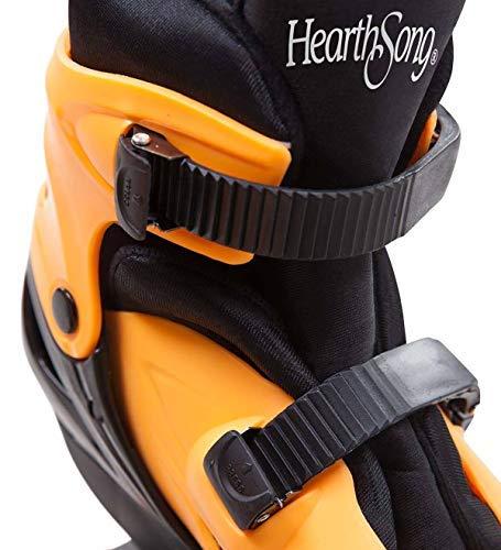 HearthSong-IndoorOutdoor-Bouncy-Jumping-Shoes-Non-Slip-Tread-in-Orange-Large