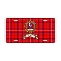 Scotland Clan Rose Novelty Auto Plate