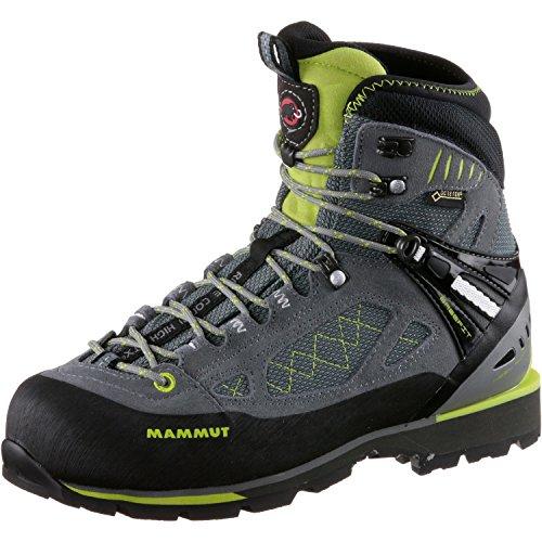 Mammut Chaussure Ridge Combi High GTX Chaussures de Randonnée pour Femme Grey/Fern–Bottes de montagne, femme, gris–(Grey/Fern)