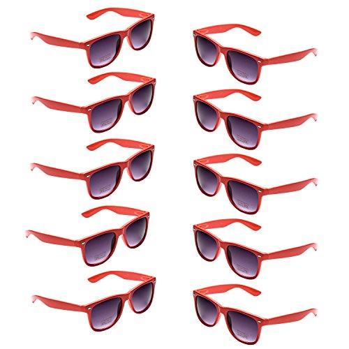 Oaonnea Wholesales 80's Retro Neon Party Sunglasses for Party Favors -