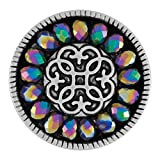 Ginger Snaps Facet Snap-Rainbow