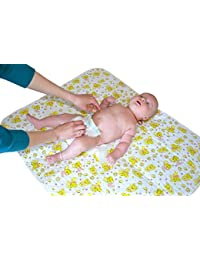 Changing Pad [Home & Travel]-One of the Biggest Portable Changing Pad to Change Diaper-Waterproof Sheet for Any Places Bed Play Stroller Crib Car-Mattress Pad Cover BOBEBE Online Baby Store From New York to Miami and Los Angeles