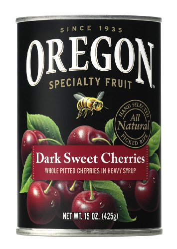 Oregon Fruit Pitted Cherries 15 Ounce product image