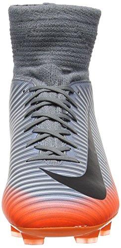 Nike Mercurial Superfly V Cr7 Fg, Botas de Fútbol para Niños Gris (Cool Grey/wolf-grey)