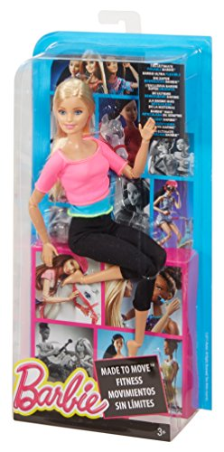Barbie Made To Move Barbie Doll Pink Top Amazon