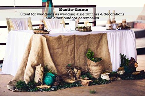 Sandbaggy Burlap Fabric Roll- for Garden, Yard, Wedding, Craft, Decorating Tables - 40 inch x 300 ft (1) by Sandbaggy (Image #5)