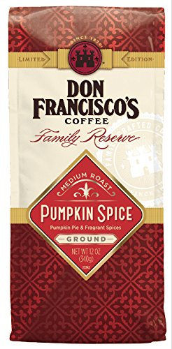 Don Franciscos Holiday Pumpkin Spice Ground 12 Ounce Bag
