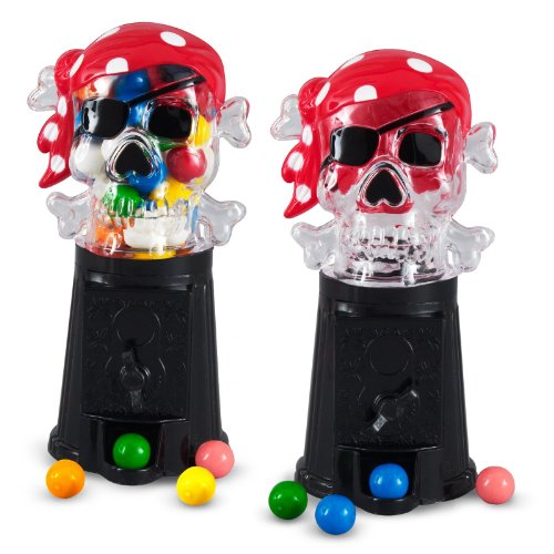 Bubble Gum Machines (Rhode Island Novelties 160430 Pirate Bubble Gumball Machine)