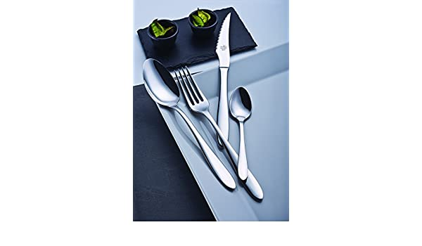 Amazon.com | idurgo London Ref. 18600 Cutlery Set, Stainless Steel: Dinnerware Sets