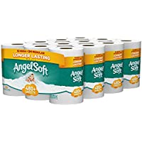 Angel Soft Toilet Paper Bath Tissue 24 Mega Rolls