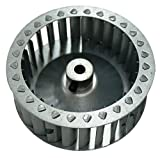 ERP Inducer Blower Wheel, CW 4'' Diam, 28 Blade, for Carrier, A65569BW, LA11AA005