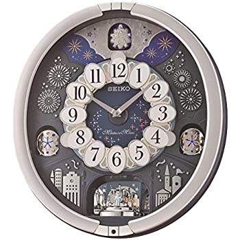 Amazon Com Seiko Melodies In Motion Wall Clock Plays One