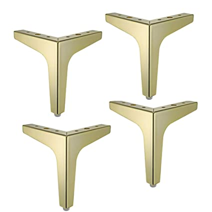Furniture Feet Muebles de Metal pies x4, pies de Apoyo Pata ...