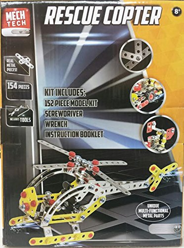 Mech Tech Build Your Own Helicopter for Ages 8 and up (Build Helicopter compare prices)