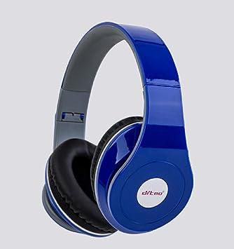 K-DD Auriculares Bluetooth, auriculares inalámbricos, auriculares ligeros y delgados con micrófono,