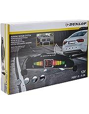 Dunlop Parkeersensoren - 12 Volt - 78dB - met Obstakel-Indicator en 4 Sensoren