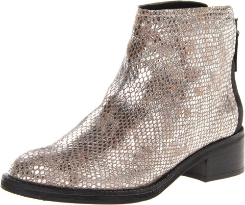 Gentle Souls by Kenneth Cole Women's Pod Pie Ankle Boot,Silver,6.5 US/6.5 M US ()