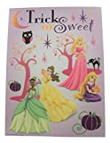 Impact Innovations Disney Princess Halloween Window Cling ~ Princess Party, Trick or Sweet (9 Clings, 1 Sheet)
