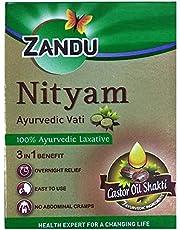 Zandu Nityam Tablet (10 Tablets) X 4