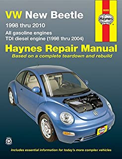 VW New Beetle 1998-2010 Repair Manual (Haynes Repair Manual)