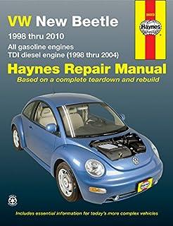 chilton total car care volkswagen new beetle 1998 2010 repair rh amazon com 2001 Volkswagen Beetle Manual Online 2001 Volkswagen Beetle Interior